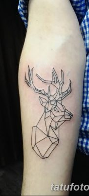 фото тату рога от 24.04.2018 №020 – tattoo horn – tatufoto.com