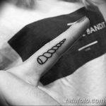 фото тату рога от 24.04.2018 №027 - tattoo horn - tatufoto.com