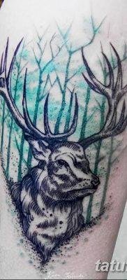 фото тату рога от 24.04.2018 №028 – tattoo horn – tatufoto.com