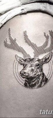 фото тату рога от 24.04.2018 №030 – tattoo horn – tatufoto.com