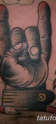 фото тату рога от 24.04.2018 №035 — tattoo horn — tatufoto.com