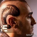 фото тату рога от 24.04.2018 №038 - tattoo horn - tatufoto.com