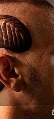 фото тату рога от 24.04.2018 №038 — tattoo horn — tatufoto.com
