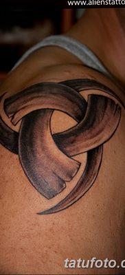 фото тату рога от 24.04.2018 №043 — tattoo horn — tatufoto.com