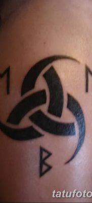 фото тату рога от 24.04.2018 №048 – tattoo horn – tatufoto.com