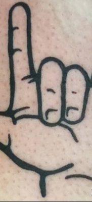 фото тату рога от 24.04.2018 №053 — tattoo horn — tatufoto.com