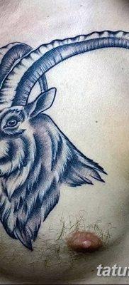 фото тату рога от 24.04.2018 №055 — tattoo horn — tatufoto.com