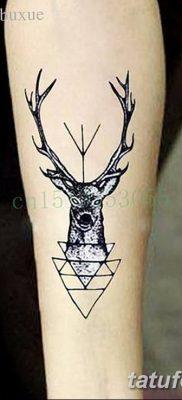фото тату рога от 24.04.2018 №066 – tattoo horn – tatufoto.com
