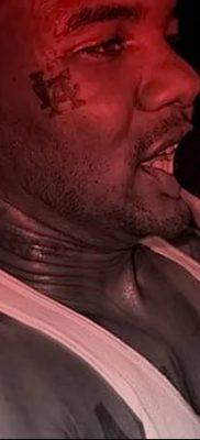 фото тату слеза на щеке от 16.04.2018 №016 – tattoo tear on cheek – tatufoto.com