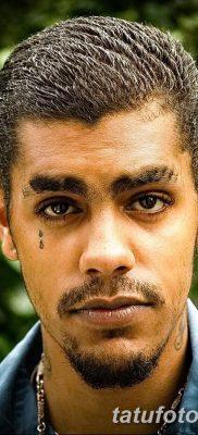 фото тату слеза на щеке от 16.04.2018 №018 – tattoo tear on cheek – tatufoto.com