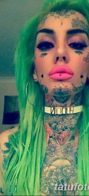 фото тату слеза на щеке от 16.04.2018 №024 – tattoo tear on cheek – tatufoto.com