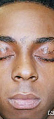 фото тату слеза на щеке от 16.04.2018 №036 – tattoo tear on cheek – tatufoto.com
