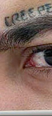фото тату слеза на щеке от 16.04.2018 №039 – tattoo tear on cheek – tatufoto.com