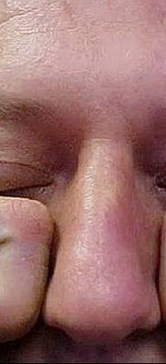 фото тату слеза на щеке от 16.04.2018 №048 – tattoo tear on cheek – tatufoto.com