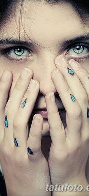 фото тату слеза на щеке от 16.04.2018 №056 – tattoo tear on cheek – tatufoto.com