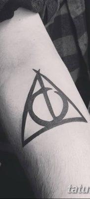 фото тату треугольник и круг от 21.04.2018 №001 – triangle and circle tattoo – tatufoto.com
