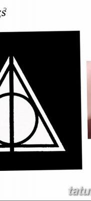 фото тату треугольник и круг от 21.04.2018 №003 – triangle and circle tattoo – tatufoto.com