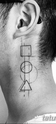 фото тату треугольник и круг от 21.04.2018 №010 – triangle and circle tattoo – tatufoto.com