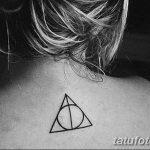 фото тату треугольник и круг от 21.04.2018 №014 - triangle and circle tattoo - tatufoto.com