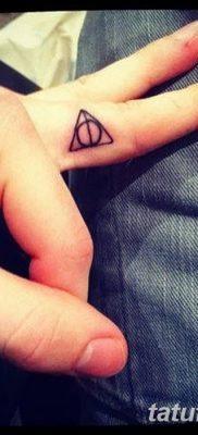 фото тату треугольник и круг от 21.04.2018 №016 – triangle and circle tattoo – tatufoto.com
