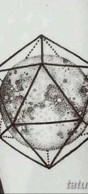 фото тату треугольник и круг от 21.04.2018 №019 – triangle and circle tattoo – tatufoto.com