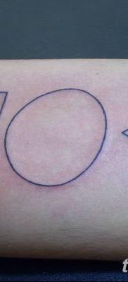 фото тату треугольник и круг от 21.04.2018 №021 – triangle and circle tattoo – tatufoto.com