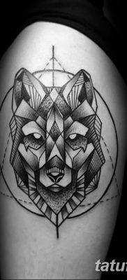 фото тату треугольник и круг от 21.04.2018 №023 – triangle and circle tattoo – tatufoto.com