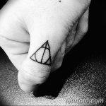 фото тату треугольник и круг от 21.04.2018 №026 - triangle and circle tattoo - tatufoto.com