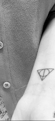 фото тату треугольник и круг от 21.04.2018 №029 – triangle and circle tattoo – tatufoto.com