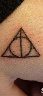 фото тату треугольник и круг от 21.04.2018 №036 – triangle and circle tattoo – tatufoto.com