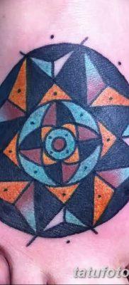 фото тату треугольник и круг от 21.04.2018 №038 – triangle and circle tattoo – tatufoto.com