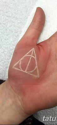 фото тату треугольник и круг от 21.04.2018 №045 – triangle and circle tattoo – tatufoto.com