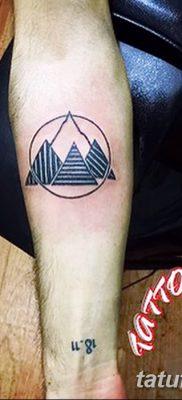 фото тату треугольник и круг от 21.04.2018 №053 – triangle and circle tattoo – tatufoto.com