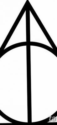 фото тату треугольник и круг от 21.04.2018 №055 – triangle and circle tattoo – tatufoto.com