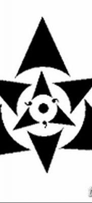 фото тату треугольник и круг от 21.04.2018 №075 – triangle and circle tattoo – tatufoto.com