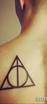 фото тату треугольник и круг от 21.04.2018 №078 – triangle and circle tattoo – tatufoto.com