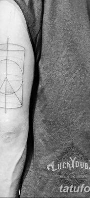 фото тату треугольник и круг от 21.04.2018 №080 – triangle and circle tattoo – tatufoto.com