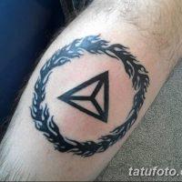 Значение тату «треугольник и круг»