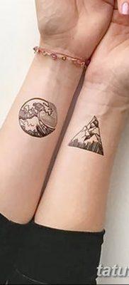 фото тату треугольник и круг от 21.04.2018 №087 – triangle and circle tattoo – tatufoto.com
