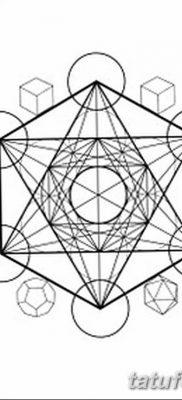 фото тату треугольник и круг от 21.04.2018 №088 – triangle and circle tattoo – tatufoto.com
