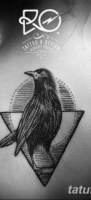 фото тату треугольник и круг от 21.04.2018 №089 – triangle and circle tattoo – tatufoto.com