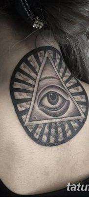 фото тату треугольник и круг от 21.04.2018 №096 – triangle and circle tattoo – tatufoto.com