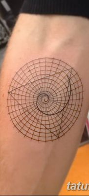 фото тату треугольник и круг от 21.04.2018 №098 – triangle and circle tattoo – tatufoto.com