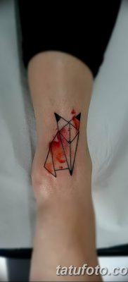 фото тату треугольник с линией от 16.04.2018 №013 – triangle tattoo with line – tatufoto.com