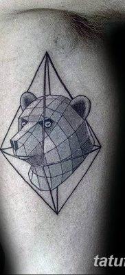 фото тату треугольник с линией от 16.04.2018 №034 – triangle tattoo with line – tatufoto.com