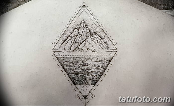Triangle Tattoo For The Unity Of Mind Body And Soul Czechav 1