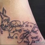 фото тату цитаты от 18.04.2018 №024 - quote tattoos - tatufoto.com