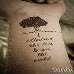 фото тату цитаты от 18.04.2018 №200 - quote tattoos - tatufoto.com