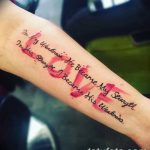 фото тату цитаты от 18.04.2018 №222 - quote tattoos - tatufoto.com