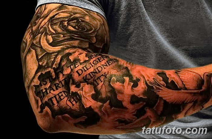 фото тату цитаты от 18.04.2018 №225 - quote tattoos - tatufoto.com